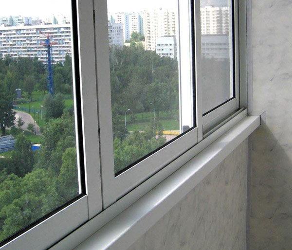 Холодное остекления балконов в дома серии п-49-п.
